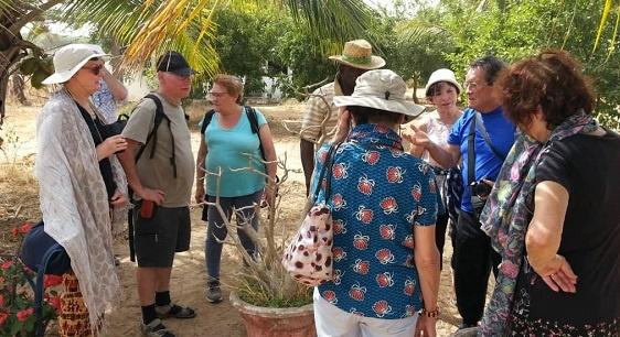 Visite à Kaydara 2 des Copains d'abord